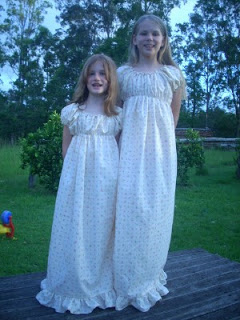 Old Fashioned Nightgowns for my Girls