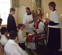 Receiving Confirmation and First Holy Communion