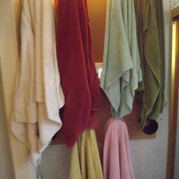 Ingenious Towel Rack