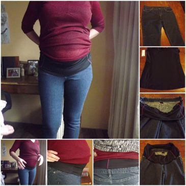 Creating Maternity Jeans