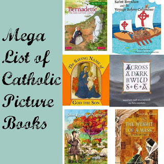 Mega List of Catholic Picture Books