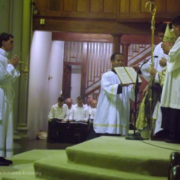Celebrating an Ordination to the Diaconate