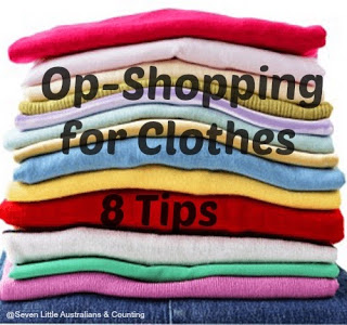 8 Tips When Op- Shopping For Clothes