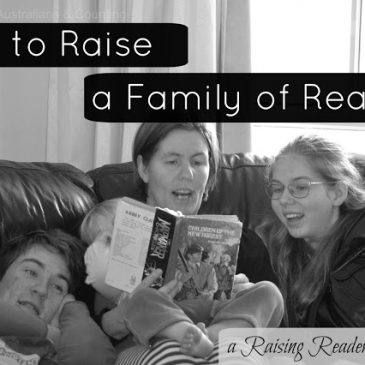 How to Raise a Family of Readers – Guest Posting