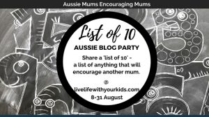 aussie mums blog party aug