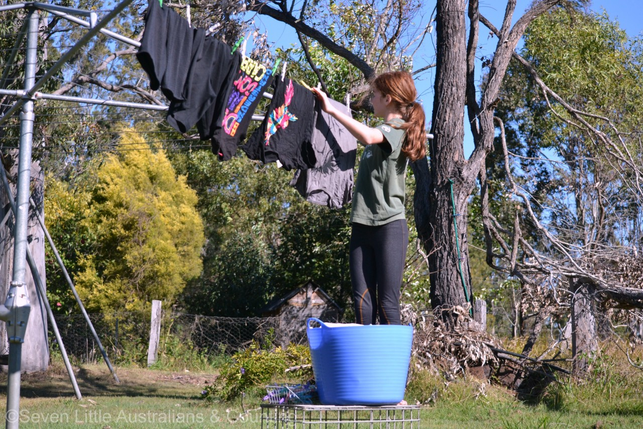 How We Manage Our Laundry: Large Family Logistics