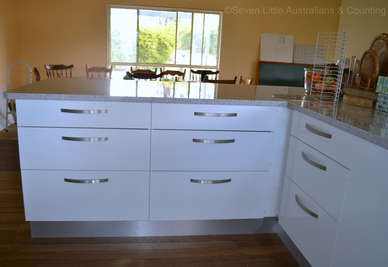 Kitchen Reveal - Seven Little Australians & Counting