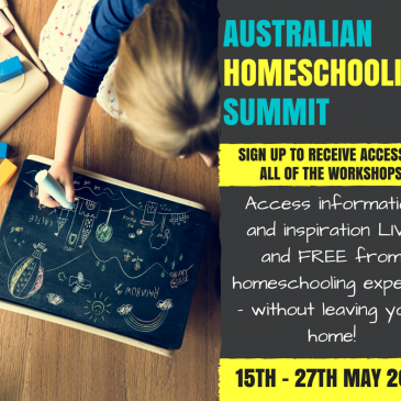 Announcing… The First Ever….. Australian Homeschooling Summit