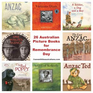 26 Australian Picture Books for Remembrance Day