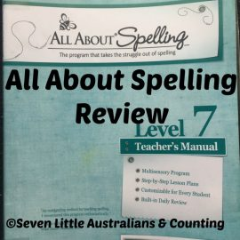 All About Spelling: Level 7