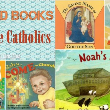 5 Board Books for Little Catholics