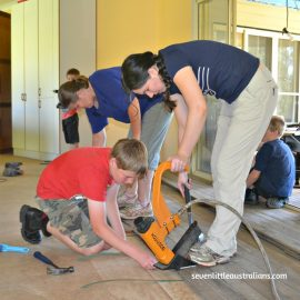 Dining & Learning Rooms Gain Floorboards