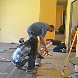 Flooring The 'Pool' Room