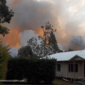 Bushfire, Evacuation & Desolation