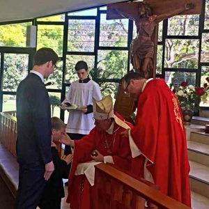 Receiving The Sacrament of Confirmation