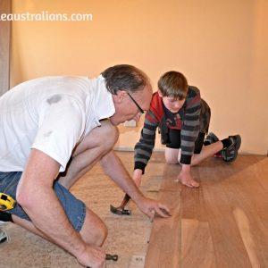 Flooring The Last Room! Our Room