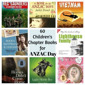 60 Children's Chapter Books for ANZAC Day