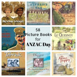 58 Picture Books for ANZAC Day