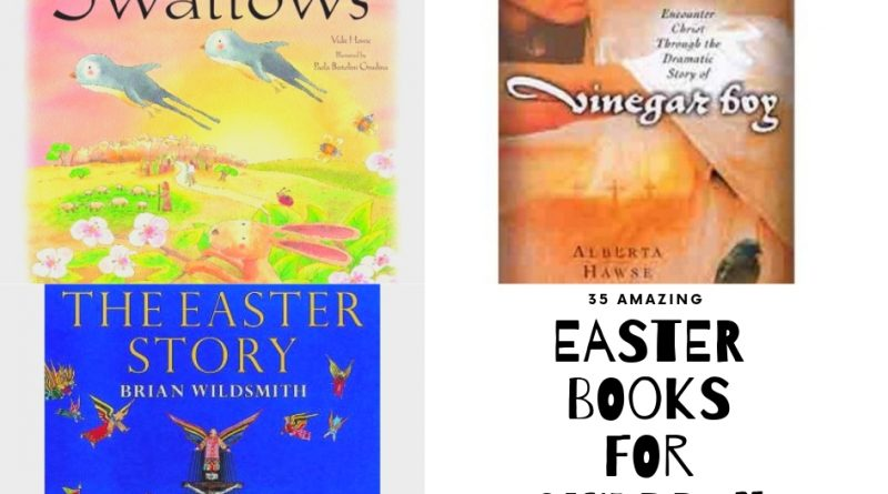 35 Amazing Easter Books for Children & Teens