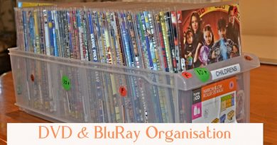 DVD & BluRay Organisation