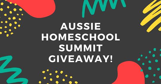 Aussie Homeschool Summit 2020 - Giveaways