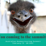 Australian Homeschool Summit 2021