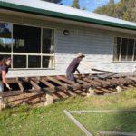Demolishing the Old Verandah